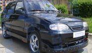 Передний бампер RS на ВАЗ 2113-2115