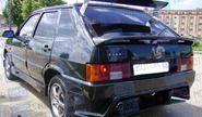 Задний бампер RS на ВАЗ 2113, 2114 в цвет
