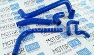 Комплект патрубков двигателя силиконовые синие CS20 Profi на ВАЗ 2101-2107