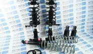 Комплект масляной передней и задней подвески в сборе kyb premium (Каяба) на ВАЗ 2108-21099, 2113-2115