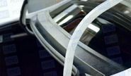 Накладка (Жабо) в проём заднего стекла на Лада Веста Седан