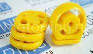 Комплект подушек глушителя желтый полиуретан  cs20 comfort на ВАЗ 2110-2112