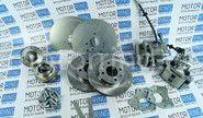 Задние дисковые тормоза Дизайн Сервис 13 вентилируемые для Лада Приора, Калина, Гранта с АБС