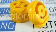 Комплект подушек глушителя желтый полиуретан cs20 comfort на Лада Калина, Калина 2, Гранта