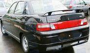 Накладка на задний бампер Снайпер неокрашенная на ВАЗ 2110