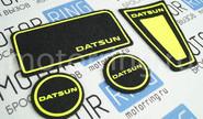 Коврики панели приборов Ворс с цветными надписями datsun на Датсун Он-До, Ми-До