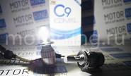 Светодиодные лампы c9 super led 6000lm 6000k h4