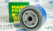Фильтр масляный mann filter на Лада Приора, Калина, Калина 2, Гранта, Веста, Икс Рей, Датсун