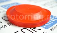Заглушка a-sport красная дальнего света 88 мм для Лада Калина/ближнего для Лада Приора