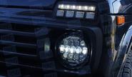 Светодиодные фары 7 дюймов на ВАЗ 2101, Лада Нива 4х4, УАЗ, jeep wrangler