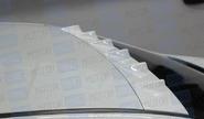Спойлер-рассекатель asm на крышу Лада Веста седан