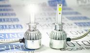 Светодиодные лампы c6 led 3800lm 6000k h1