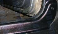 Передние накладки на ковролин ЯрПласт на Лада Ларгус фургон