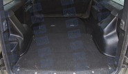 Накладки на ковролин АртФорм в багажник Лада Ларгус 5 мест