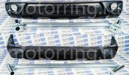 Комплект бамперов Урбан под ПТФ с кронштейнами на Лада Нива 4х4