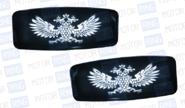 led повторители поворотника со стробоскопом белые с гербом (двуглавый орел) на ВАЗ 2108-21099, 2110-2112, 2113-2115, Лада Калина, Приора, Гранта
