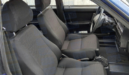 Обивка сидений (не чехлы) черная Искринка на ВАЗ 2108, 2109, 21099, 2113, 2114, 2115, Нива 2131 длинная