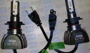 Светодиодные лампы s1 sal-man 6000k 3800lm h1