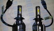 Светодиодные лампы a6 sal-man 6000k 4600lm h7