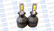 Светодиодные лампы c9 sal-man 6000k 3800lm h1