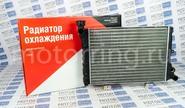 Радиатор охлаждения красная упаковка ОАТ алюминиевый на ВАЗ 2103, 2106