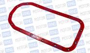 Прокладка масляного поддона силиконовая красная с металлическими шайбами CS20 Drive на ВАЗ 2108-2115, Калина, Приора, Гранта