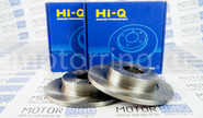 Передние тормозные диски hi-q r13 невентелируемые на ВАЗ 2108-21099, 2113-2115