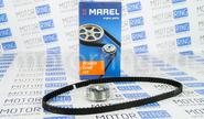Ремкомплект ГРМ с металлическим роликом marel magnum на 8 кл Лада Калина 2, Гранта, Ларгус, Датсун