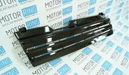 Халявing! Решетка радиатора 3 лопасти с перемычками черная на ВАЗ 2108-21099