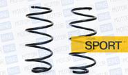 Пружины передней подвески АСОМИ sport бочкообразная с занижением 50 мм на Лада Калина, Калина 2, Гранта, Датсун