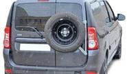 Кронштейн запасного колеса на дверные петли Лада Ларгус