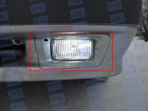 Рамки ПТФ на ВАЗ 2113, 2114, 2115 в цвет кузова