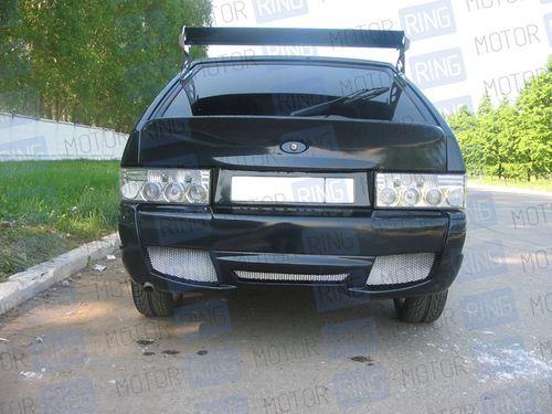 Задний бампер V-max Sport на ВАЗ 2113, 2114 в цвет