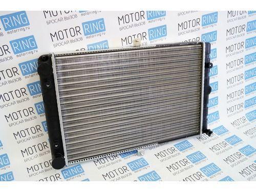 Оригинальный алюминиевый радиатор охлаждения двигателя на ВАЗ 2108-21099, 2113-2115 инжектор