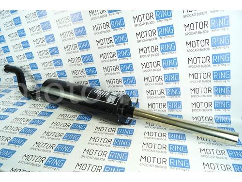 Глушитель прямоточный для ВАЗ 21099 без насадки для штатной установки