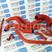 Патрубки двигателя армированный каучук красные на Лада Приора