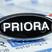 """Светодиодный шильдик с белой надписью """"Priora"""" для Лада Приора"""