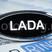 """Светодиодный шильдик с белой надписью """"LADA"""" на Лада Калина 2, Приора, Гранта"""