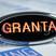 """Светодиодный шильдик с красной надписью """"Granta"""" для Лада Гранта"""