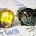Диодные ПТФ Sal-Man двухцветные (бело-синий 6000К и желтый 3000К) 50W на Лада Калина, Калина 2, Гранта, Ларгус, Датсун