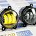 Диодные ПТФ Sal-Man двухцветные (бело-синий 6000К и желтый 3000К) 50W на Лада Приора, Шевроле Нива после рестайлинга 2009 г.в.