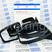 Боковые зеркала Гранта Стиль с электроприводом, обогревом, динамическим повторителем поворотника Лексус (оригинал Sal-Man) адаптированные для ВАЗ 2108-21099, 2113-2115