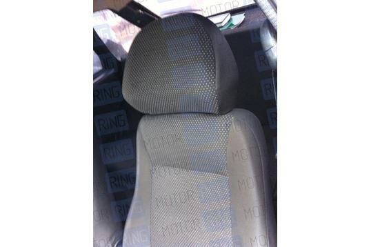 Обивка сидений (не чехлы) черная Искринка на Шевроле Нива_1