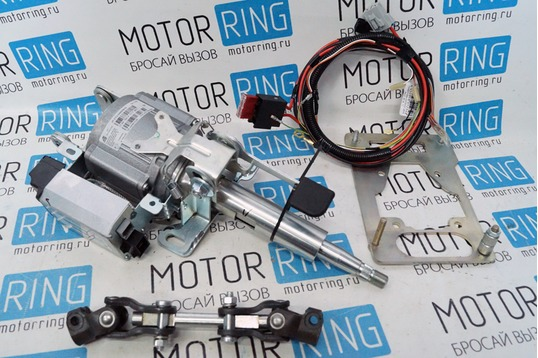 Электроусилитель руля Калуга от Приоры с комплектом для установки на инжекторные ВАЗ 2108-21099_1