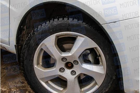 Защитные накладки колесных арок АртФорм на Лада Веста седан, Веста SW_1