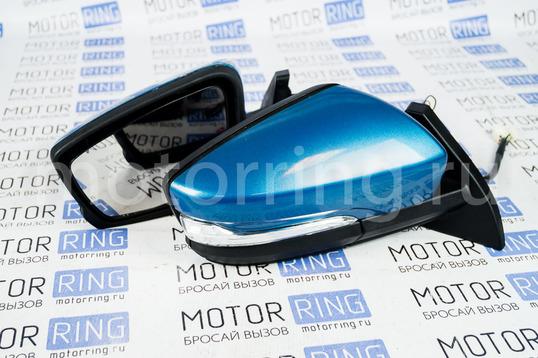 Боковые зеркала Гранта Стиль с электроприводом, обогревом, повторителем поворотника адаптированные для ВАЗ 2108-21099, 2113-2115_1
