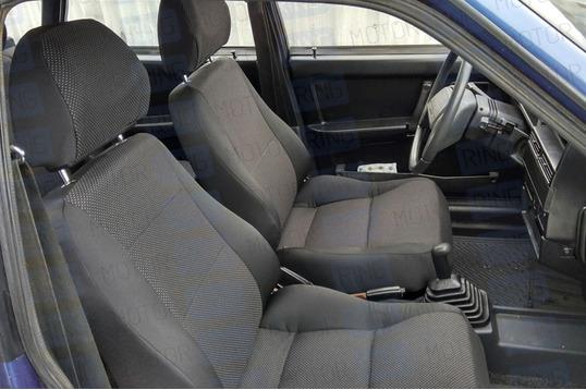 Обивка сидений (не чехлы) черная Искринка на ВАЗ 2108, 2109, 21099, 2113, 2114, 2115, 5-дверная Нива 2131_1
