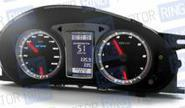Электронная комбинация приборов Gamma GF 819 Silver для Лада Приора, Калина, ВАЗ 2110-12 с евро панелью
