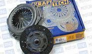 Cцепление в сборе Krafttech для автомобилей Chevrolet Lacetti с двигателем 1.4L/1.6L W05215B9