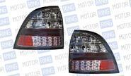 Светодиодные задние фонари ProSport Techno RS-09586 для Лада Приора, хром корпус